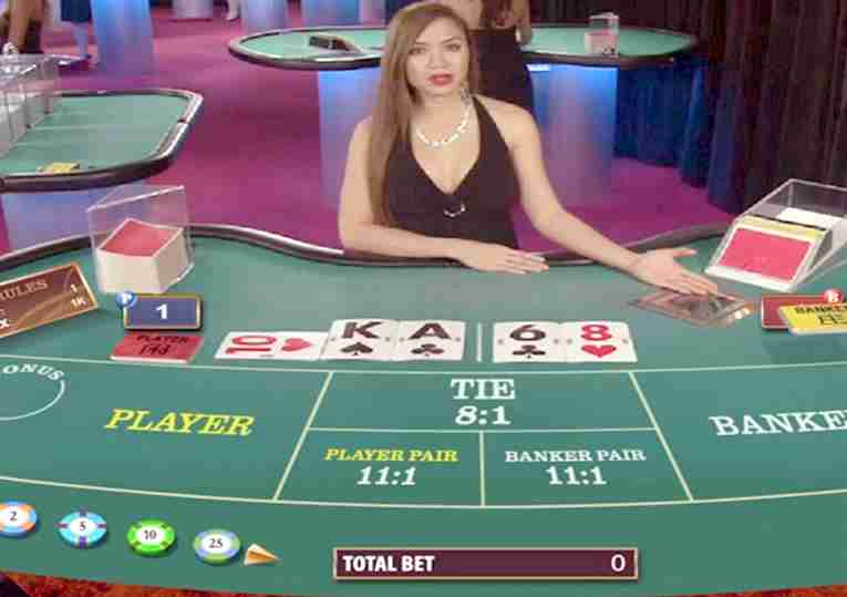 baccarat rules online